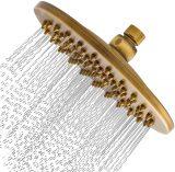 Alcachofa de ducha dorada