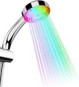 Alcachofa de ducha con luz led