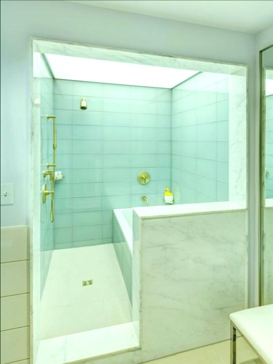 ducha antigua moderna