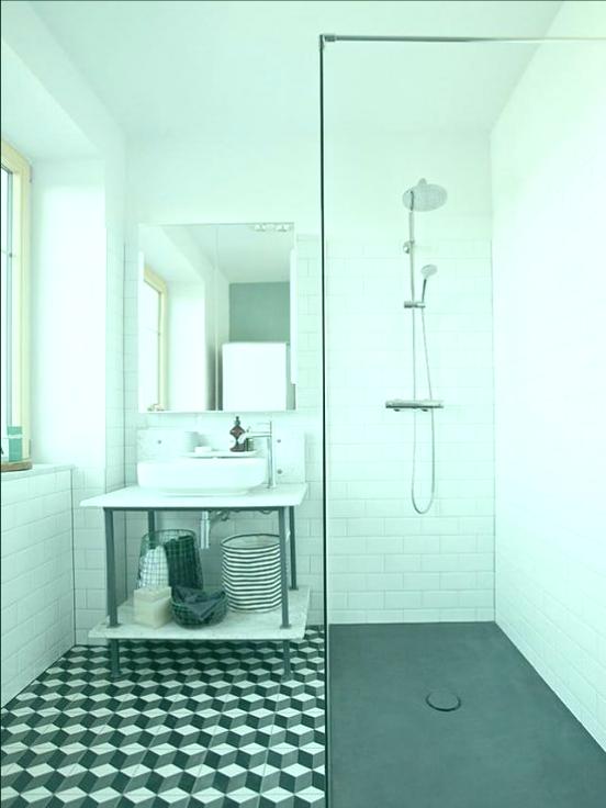 ducha moderna ahorro espacio
