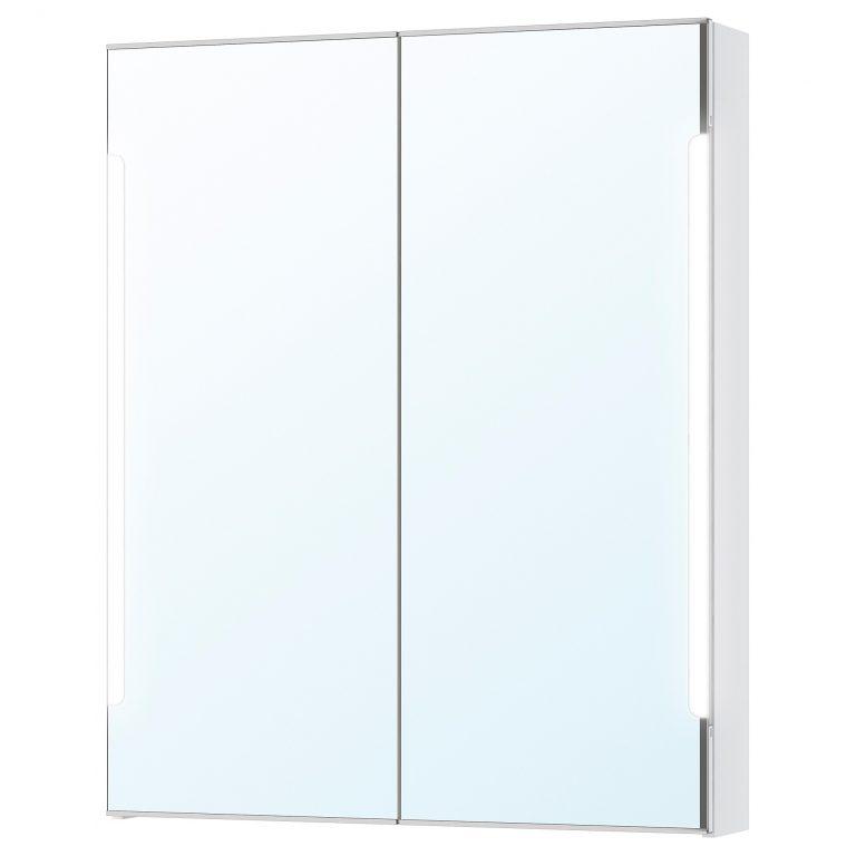 armario con espejo y luz